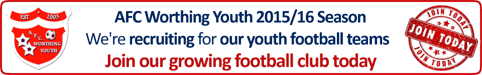 AFC Worthing Youth - Join our club