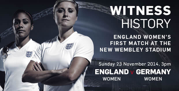 England womens football team at wembley