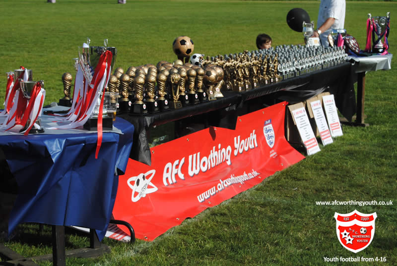 AFC Worthing Youth - Player awards and trophies
