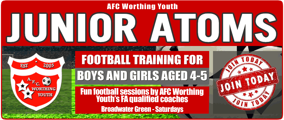 Football Coaching for 4-5 year olds in Worthing - AFC Worthing Youth
