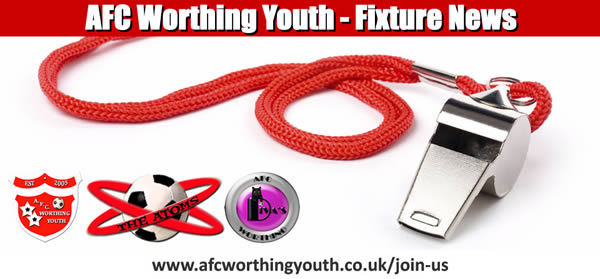 AFC Worthing Youth Football Club Fixtures