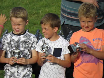 Junior football awards at AFC Worthing Youth