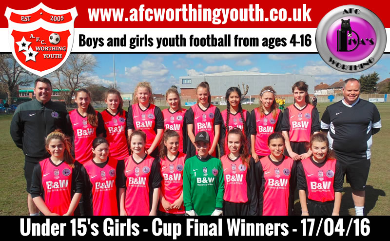 Worthing Under 15's Cup-Final Squad