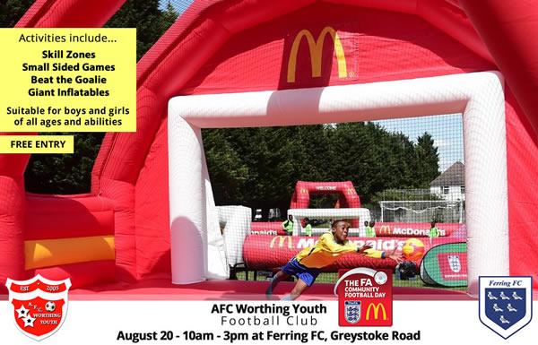 AFC Worthing Youth FA Community Fun Day