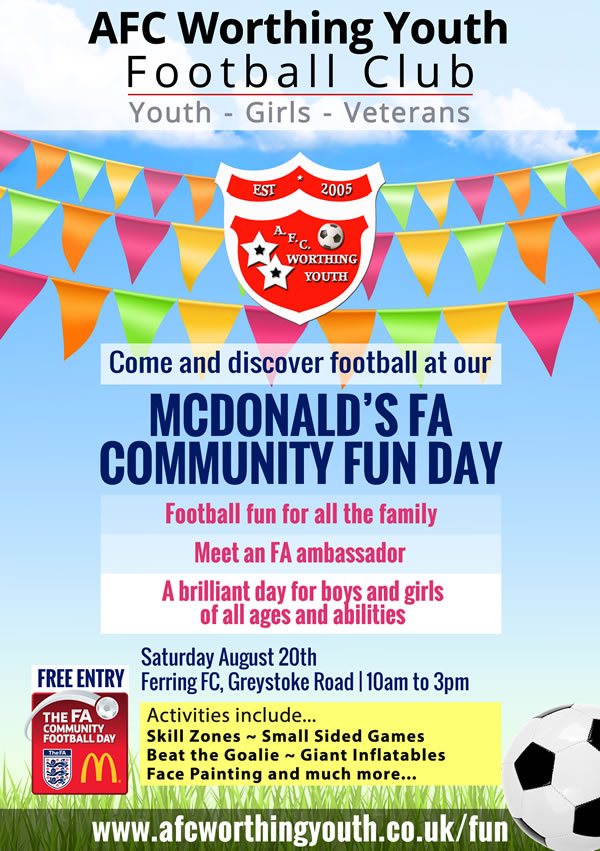FA COMMUNITY FUN DAY